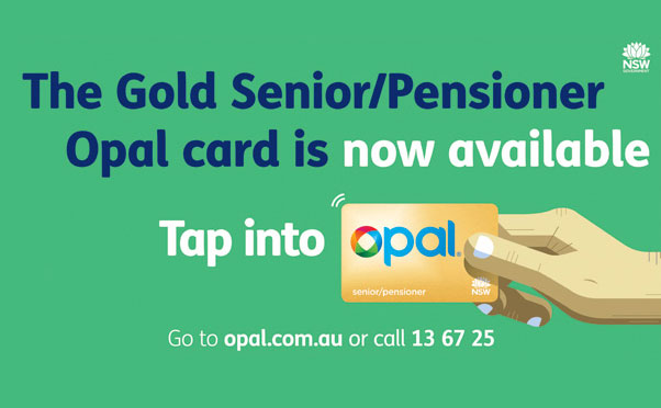 Opal card ticketing information