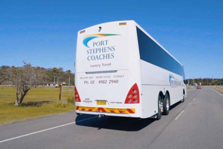 Port Stephens Coaches luxury Coach
