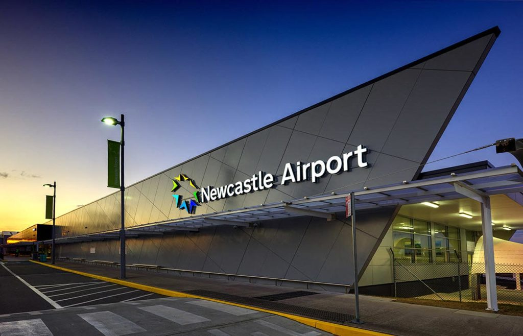 Port Stephens Coaches Newcastle Airport Shuttle Service