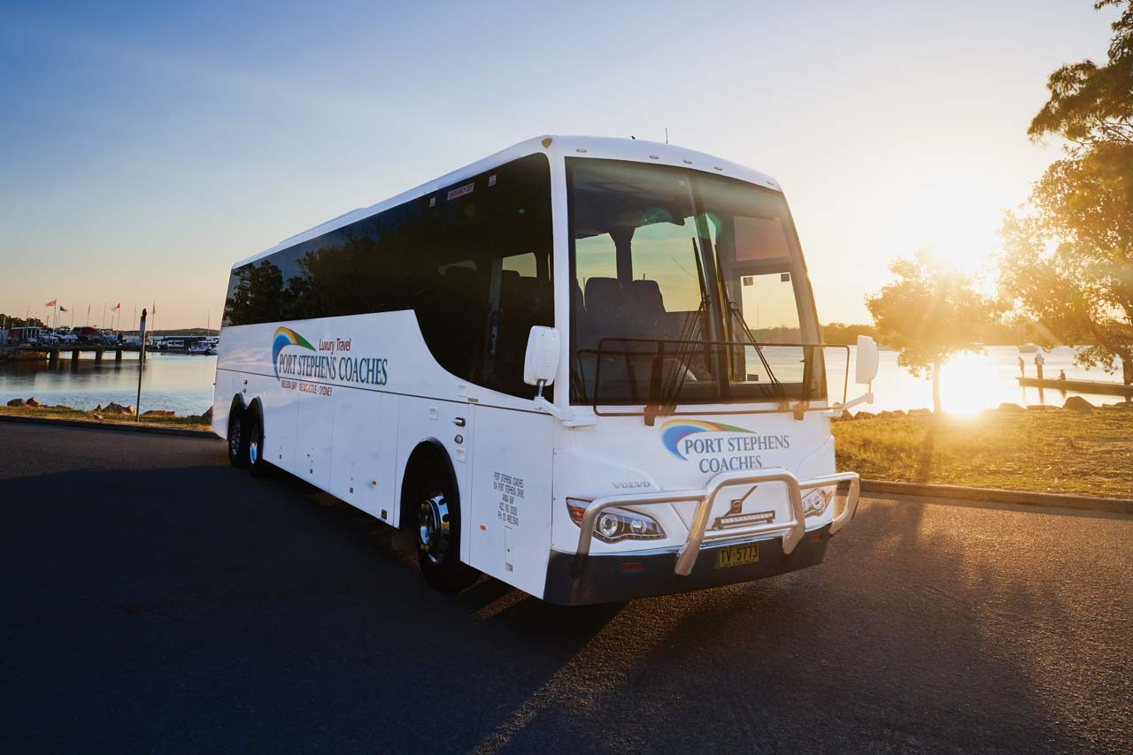 Port Stephens Coaches luxury transport