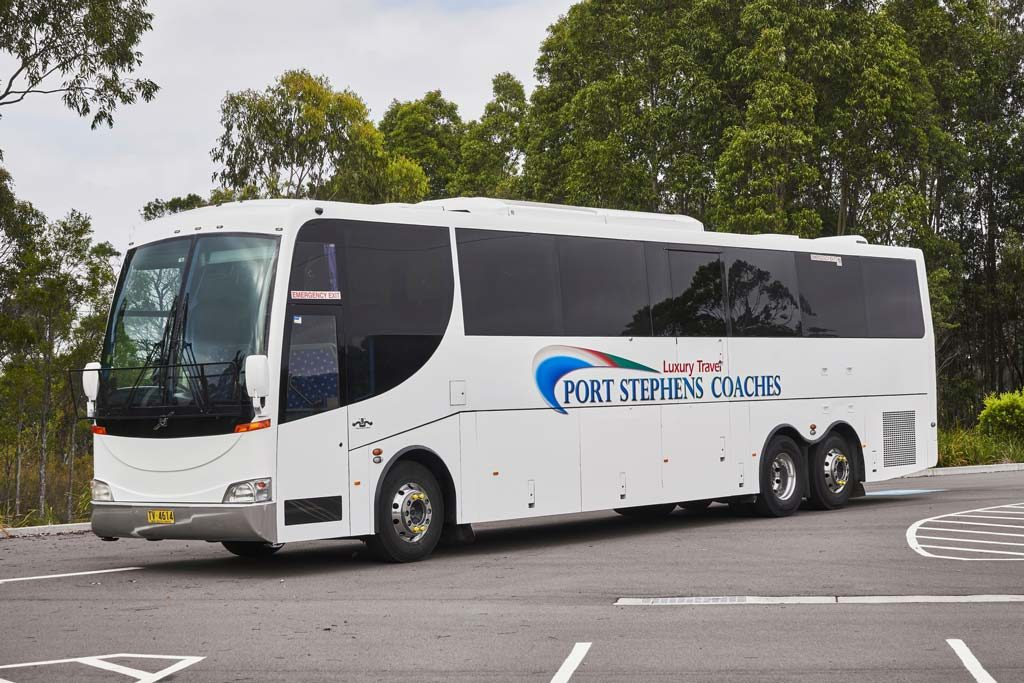 Port Stephens Coaches, 5 star coach travel